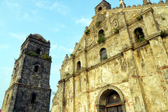 Paoay church, philippines Royalty Free Stock Photos