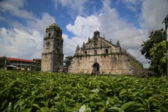 Paoay Church Royalty Free Stock Photography