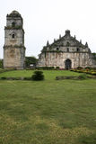 Paoay coral block colonial church philippines Royalty Free Stock Photo