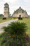 Paoay old colonial church ilocos philippines. Paoay church in ilocos norte northern luzon the philippines. Dating from 1694 and built by Augustinian friars using Royalty Free Stock Image