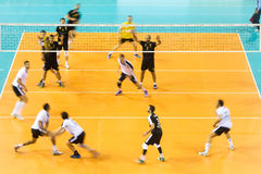 PAOK ARIS GREEK VOLLEY LEAGUE Stock Photo