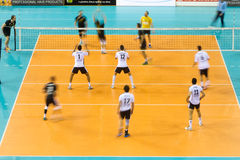 PAOK ARIS GREEK VOLLEY LEAGUE Royalty Free Stock Photo