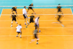 PAOK ARIS GREEK VOLLEY LEAGUE Royalty Free Stock Photography