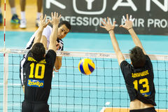 PAOK ARIS GREEK VOLLEY LEAGUE Stock Photography