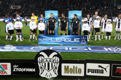 Paok - Atromitos Royalty Free Stock Photos
