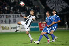 Paok - Atromitos Stock Photography