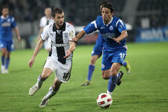 Paok - Atromitos Royalty Free Stock Photography