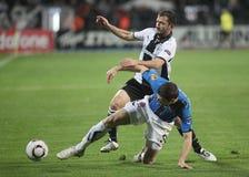 PAOK FC - CLUB BRUGGE KV Stock Afbeelding