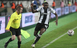 PAOK FC - CLUB BRUGGE KV Stock Photo