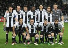 PAOK FC - CLUB BRUJAS KILOVOLTIO imagen de archivo