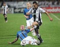 PAOK FC - CLUBE BRUGES QUILOVOLT Fotos de Stock
