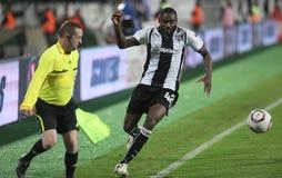 PAOK FC - CLUBE BRUGES QUILOVOLT Foto de Stock