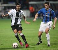 PAOK FC - CLUBE BRUGES QUILOVOLT Imagem de Stock