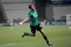 PAOK gegen Schalke Lizenzfreies Stockbild