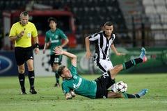 PAOK gegen Schalke Stockbilder