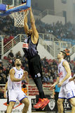 PAOK THESSALONIKI vs BUDUCNOST VOLI PODGORICA EUROCUP GAME Royalty Free Stock Images