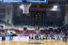 PAOK THESSALONIKI vs KHIMKI EUROCUP GAME Stock Photography