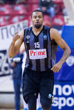 PAOK THESSALONIKI vs KHIMKI EUROCUP GAME Royalty Free Stock Photo