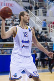 PAOK THESSALONIKI vs KHIMKI EUROCUP GAME Stock Photo