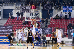 PAOK THESSALONIKI vs KHIMKI EUROCUP GAME Royalty Free Stock Photos