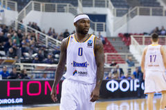 PAOK THESSALONIKI vs KHIMKI EUROCUP GAME Stock Images