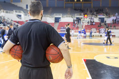 PAOK THESSALONIKI vs KHIMKI EUROCUP GAME Stock Image