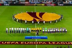 PAOK VS FIORENTINA UEFA EUROPA LEAGUE Stock Image