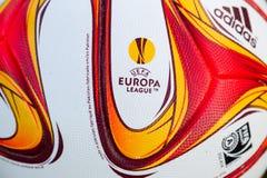 PAOK VS LIGAN FÖR FIORENTINA UEFA-EUROPA arkivbilder