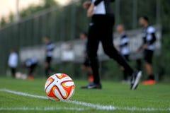PAOK VS LIGAN FÖR FIORENTINA UEFA-EUROPA royaltyfri fotografi