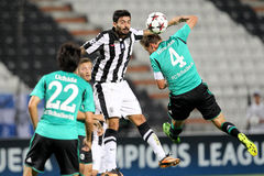 PAOK vs Schalke Royalty Free Stock Images