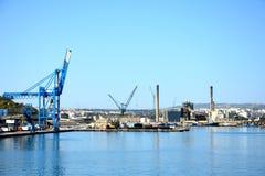 Paola船坞,马耳他 库存图片