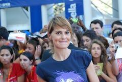 Paola Cortellesi al Giffoni Film Festival 2011 Fotografia Stock