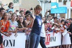 Paola Cortellesi al Giffoni Film Festival 2011 Immagini Stock