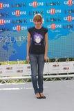 Paola Cortellesi al Giffoni Film Festival 2011 Fotografie Stock Libere da Diritti