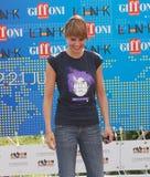 Paola Cortellesi al Giffoni Film Festival 2011 Fotografie Stock