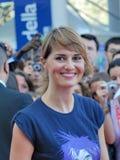 Paola Cortellesi al Giffoni Film Festival 2011 stock photo