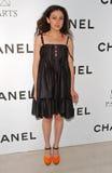 Paola Pivi in Chanel en P.S. de Partij van Kunsten. Chanel Beverly Hills Boutique, Beverly Hills, CA. 09-20-07 Stock Foto's