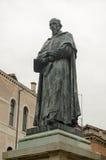 Paolo Sarpi Statue, Venecia Fotos de archivo libres de regalías