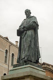Paolo Sarpi Statue, Veneza Fotos de Stock Royalty Free
