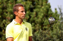 Paolo Terreni at the Golf Open de Paris 2009 Royalty Free Stock Photo