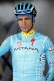 Paolo Tiralongo Team Atana Pro Immagine Stock