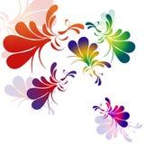 Paons abstraits Photo libre de droits