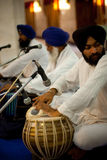 Paonta Sahib Prayer Band Drums Stock Images