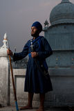 Paonta Sahib Sikh Man Blue Stock Images