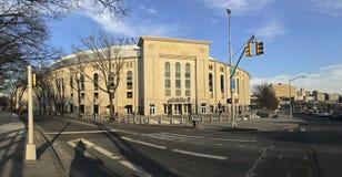 Paoramic del Yankee Stadium en el Bronx Foto de archivo