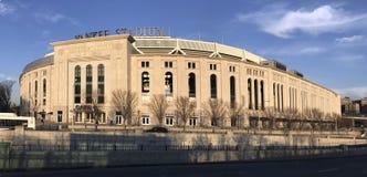 Paoramic des Yankee Stadium im Bronx Stockfotografie