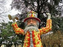 Papà del Gnocco carnival Verona stock photography