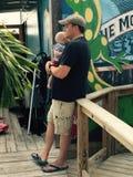 Papà e figlio Immagini Stock