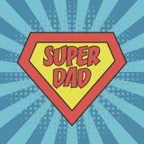Papà eccellente Concetto del padre Day per la cartolina d'auguri, manifesto, illustrazione vettoriale
