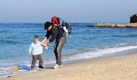 Papà, figlio e figlia fotografie stock libere da diritti